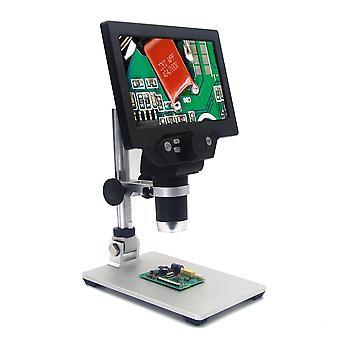 7' Hd 12mp 1-1200x lcd digitaalinen mikroskooppi elektroninen video mikroskoopit pcb bga smt juotos puhelimen korjaus suurennuslasi seos jalusta