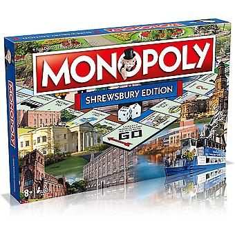 Monopoly shrewsbury board game