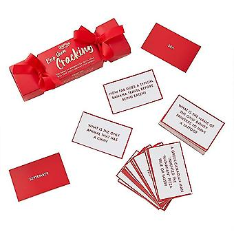 Weihnachten Cracker Trivia Spiel für Erwachsene - Secret Santa