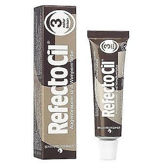 Refectocil Natural Brown Tint for Eyelashes and Eyebrows n ° 3 of 15 ml