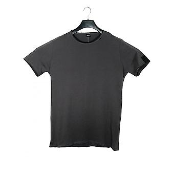 Replay Jeans Replay Crew Neck T-shirt Charcoal