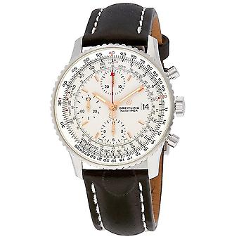 Breitling Navitimer 1 Chronograph Automatic Silver Dial Men's Watch A13324121G1X2