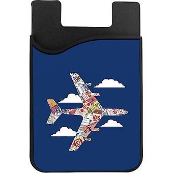 Pan Am Plane Baggage Tags Phone Card Holder