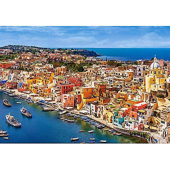 Castorland, Puzzle - Marina Corricella - 1500 Pieces