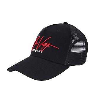Ace Vestiti Signature Mesh Trucker - Noir/Rouge