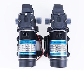 12v 24v 120w 130psi 10l / Min Water High Pressure Diaphragm Self-priming Pump