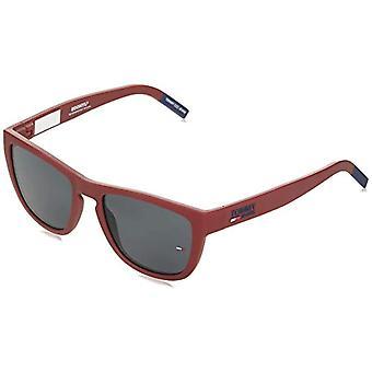 Tommy Hilfiger TJ 0002/S Sunglasses, Matte Red, 54 Unisex-Adult
