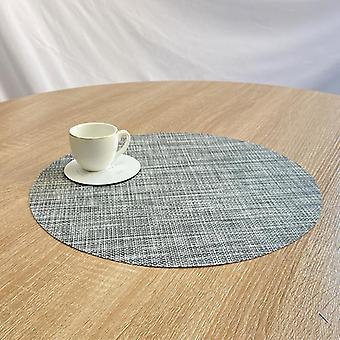 מחצלת שולחן אוכל מקום מחצלות עגולות