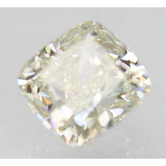 Sertifioitu 0,70 karat H Väri VVS1 Tyyny Natural Loose Diamond 4.8x4.68mm