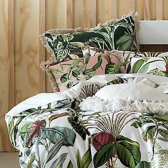 Linen House Wonderplant Square Pillowcase