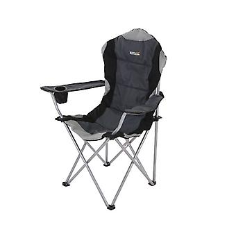 Kruza Padded Folding Camping Chair Drink Holder and Storage Bag