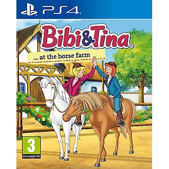 Bibi & Tina at the Horse Farm PS4 Game