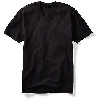 "Goodthreads Men's ""The Perfect V-Neck T-Shirt"" Short-Sleeve, Black, Size Small"