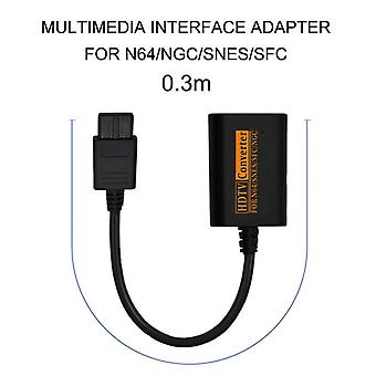 720P switch converter to hdtv video cable convenient splitter game console conversion game accessories for n64 snes ngc sfc