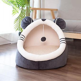 Indendørs Kitty House Cute Animal Varm lille seng