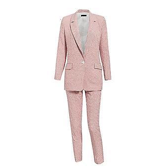 Zimné - Casual Plaid, Jednoradové, s dlhým rukávom, sako nohavice, obleky