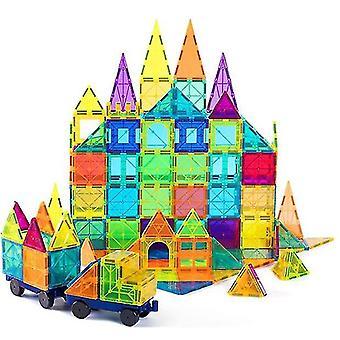 Kids Magnet Toys Magnetic Tiles, Magnetic Building Blocks Educational Toys(120 PCS)