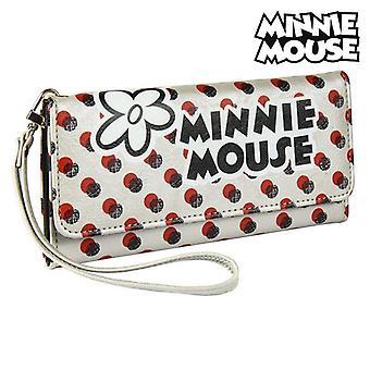 Porta carte mouse Minnie borsa Bianco Metallico 70687