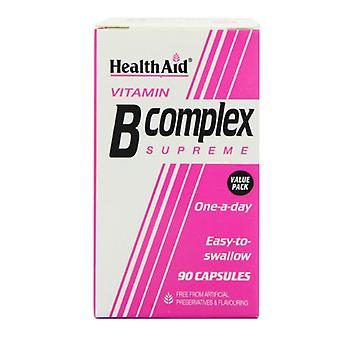 HealthAid Vitamin B Komplex Supreme Caps 90 (801020)