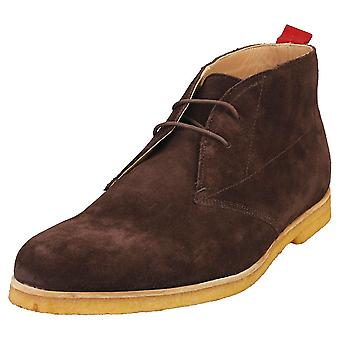 Ted Baker Appell Mens Desert Boots in Brown Chocolate