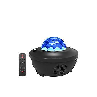 LED-havsvågprojektor med Bluetooth-högtalare med nattljus och omgivande belysningsfunktioner