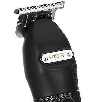 סכיני גילוח חשמליים קוצץ שיער גוזם נטען שחור