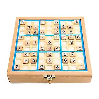 Tile games wooden sudoku game logical thinking training toys early educational board drawer game|strategy games