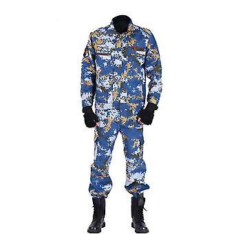 Men Military Jacket Pants Set, Tactical Camouflage Multicam Combat Uniforms