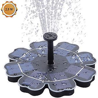 Solar Fountain Pump 2.5w Birdbath Pond Outdoor Water Feature