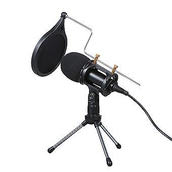 Microphone filaire avec enregistrement vocal