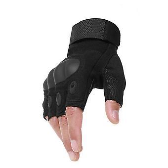 taktisk hard knoke halvfinger hansker hæren militær fingerløs-1
