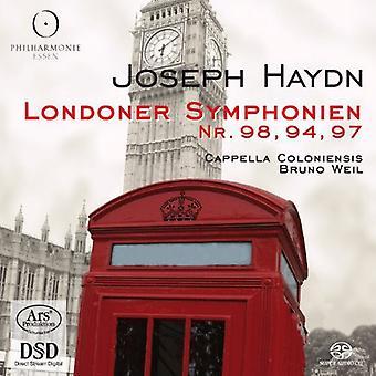 Cappella Coloniensis - Haydn: Londoner Symphonien Nr. 98, 94, 97 [SACD] USA import