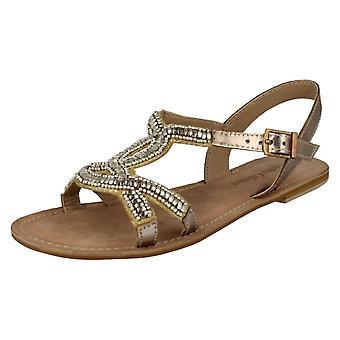 Ladies Spot su sandali in pelle collezione glamour