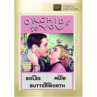 Orchids to You [DVD] USA import