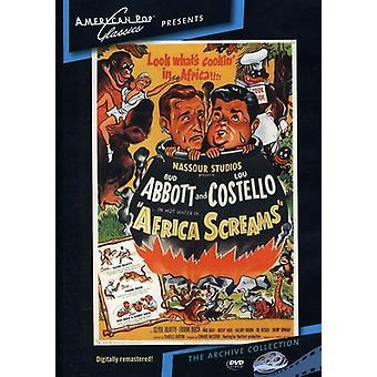 Afrika-Schreie (1949) [DVD] USA importieren