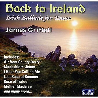 Griffett/Lindley/Benson - vuelta a España: baladas y canciones de irlandés para la importación de los E.e.u.u. de Tenor [CD]
