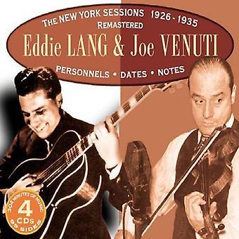 Lang/Venuti - New York Sessions 1926-35 [CD] USA import