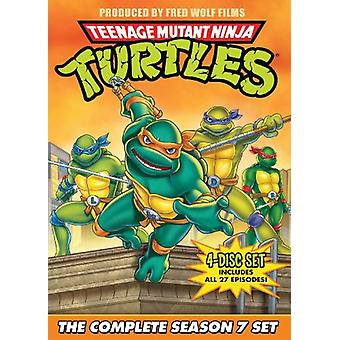 Teenage Mutant Ninja Turtles: Season 7 [DVD] USA import