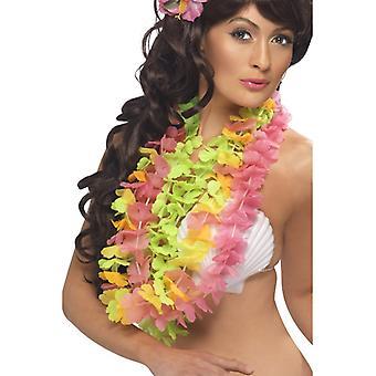 Hawaiianische Blumenkette Verschiedenerlei 3er Pack