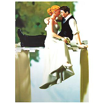The Art Group In Love Wedding Toppers Card