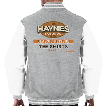 Haynes ristampa classica t-shirt Varsity giacca uomo