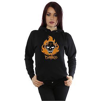 Suicide Squad kvinnors El Diablo ikonen Hoodie