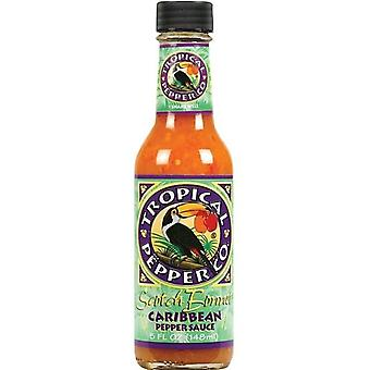 Tropical Pepper Co. Scotch Bonnet Carribean Pepper Hot Sauce