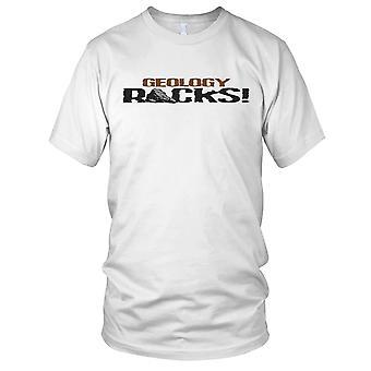 Geología rocas ciencia fresco las señoras T Shirt