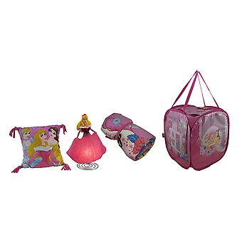Disney Pink Princess 4 Piece Room On The Go Pop Up Hamper Set