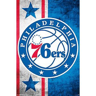 Philadelphia 76ers - Logo juliste Juliste Tulosta