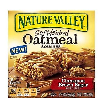 Nature Valley kanel farin Soft-bagt havregrød firkanter