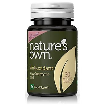 Natures Own Antioxidant + CoQ10: 50mg CoQ10 , 60 capsules