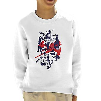 Cowboy Bebop silhouet Kid's Sweatshirt