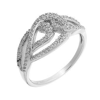 Orphelia Silver 925 Ring 3 ZR-3879 zirkonium lijn